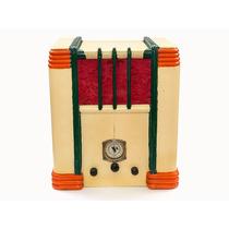 Antigua Radio A Válvulas Tipo Catedral / Capilla (años 30)