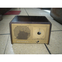 Antigua Caja Radio Valvular Philips