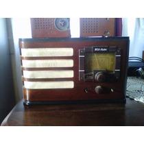 Antigua Radio Rca Victor Funcionando