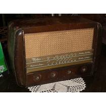 Antigua Radio Valvular - Radio Serra - Completa (1183)