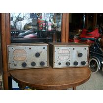 Par De Antigua Radios Transceptor Irea A Valvulas Modelo 701