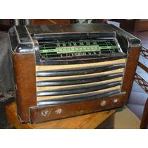 Antigua Radio Valvular Arval Buen Estado S/probar (---r)