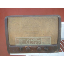 Antiguo Radio Valvular-solo Decoracion-no Funciona-philips