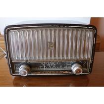Antigua Radio A Valvulas Philips Funcionando Reliquia Muy Bu