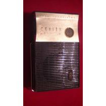 Antigua Radio A Transistores Zenith Royal 300 Funcionando
