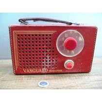Antigua Radio Transistor Vanguard Coleccionista