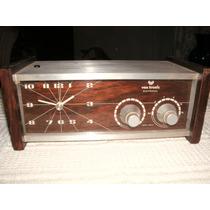 Antiguo Radio Reloj Vox Tronic Electrónico