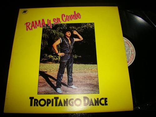 Rama Y Su Combo Tropitango Dance Promo 1986 Vinilo Lp Argent