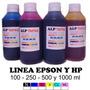 Tintas Inkjet Para Epson Y Hp Sistema Continuo X1 Litro