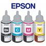 Tinta Epson Original Combo Kit X 4 L200 L210 L355 T664 T 644