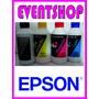 Tinta Para Sistemas Continuos Y Cartuchos X 250ml Epson