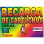 Recarga De Cartuchos Hp 564 - 594 De Impresora Hp 309 Etc