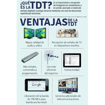 Antina Prepago Television Digital Hd Con Instalacion
