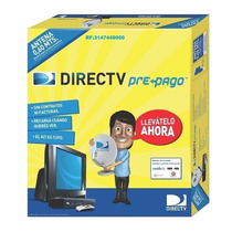 Directv Prepago-sin Abono-kit Autoinstalable-antena De 60 Cm