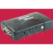 Conversor Video Vga A Tv Video Compuesto/ S-video Alta Resol
