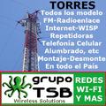 Torres, 10/8 Vhf-uhf-internet-wisp- X Metro Kit Completo