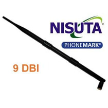 Antena 9 Dbi Nisuta Ns-an19 2.4ghz Omnidireccional