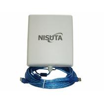 Antena Wireless Usb Cpe B-g-n Nisuta Ns-wiucpe310 2w 12dbi