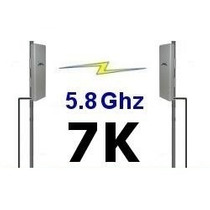 Enlace Wireless Punto A Punto 5.8ghz Snp2p7k Hasta 7km Wifi