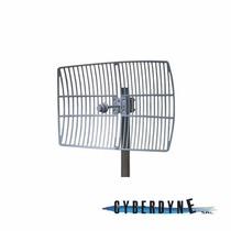 Antena Hyperlink Hg5827eg 5.8ghz 27dbi Aluminio Wi-fi Nueva!