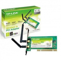 Placa De Red Wifi Tp-link Tl-wn851n 3000 Mbps Inalambrica