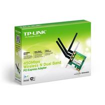 Placa De Red Pci-e Wifi Tp-link 3 Antenas Wdn4800 - Dixit Pc