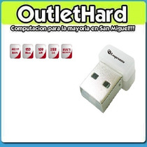 Placa De Red Usb Wifi 150 Mbps San Miguel Outlethard