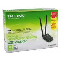 Placa Red Usb Wifi Tp-link Tl-wn8200nd 300mbps Alta Potencia