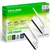 Placa De Red Wifi Usb Tp Link Tl-wn722n 150 Mbps Con Antena