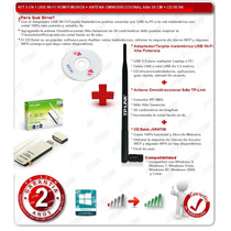 Rompemurosusb Wi-fi Tp-link 150mbps 100mw + Antena 8db Free