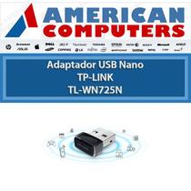 Placa De Red Usb Tp-link Wifi Nano Wn-725 Original 150mbps