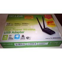 Placa De Red Usb Wi-fi Tp Link 8200nd Largo Alcance Original