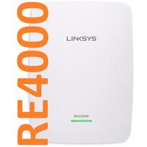 Repetidor De Señal Wifi Linksys Re2000 N600 Dualband+alcance