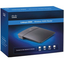 Router Linksys E900 Wifi Norma N 300 Mps 2.4ghz Windows Mac