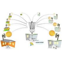 Nodo Wireless Omni 2.4 Ghz Hasta 20 Clientes Y 5 Km Snomni5k