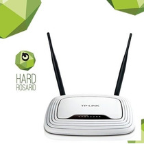 Rosario Router Tp Link Wr 841n 300 Mbps Wifi B/g/n 2 Antenas