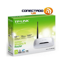 Router Wi Fi Tp-link Tl-wr740n Wireless N 150mbps Tribunales