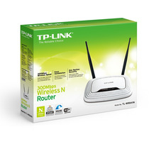 Router Wifi Tplink 300mb 2 Antenas Wr841n - Dixit Pc