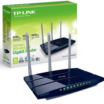 Router Gigabit Tp Link Wr1043nd 300 Mbps Wifi 3 Ant 1 Usb