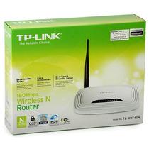 Router Wifi Wireless Tp Link Tl-wr Xxx N Wps Modelo En Desc.