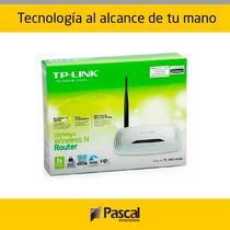 Router Tp-link Tl-wr741nd - 4 Ptos De Red, 2.4 Ghz - Rosario