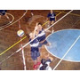 Red Voley Profesional 9,40m X 1m Hilo Polyester Tensor Acero