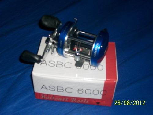 Reel Rotativo Albatros Asbc 6000 P/lanzar
