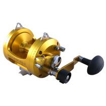 Reel Rotativo Omoto S22-ii 2 Velocidades-ideal Embarcado Mar