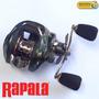 Reel Rotativo Huevito Rapala Xr8 200 Manija Derecha Baitcast