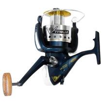 Reel Spinit V8 Titan 550 8 Rulemanes Carretel Extras Grafito