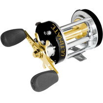 Reel Rotativo Spinit Ultimate 6500 Cuerpo Bronce 6 Rulemanes