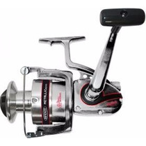 Reel Frontal Spinit Metallic 6350 Con 3 Rulemanes + Carretel