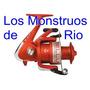 Reel Waterdog Bellus 6002 Pesca Pesada Rio Mar 2 Rulemanes