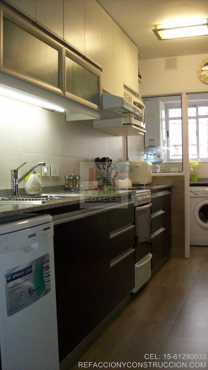 Refacci n ba os y cocinas remodelaci n de vivienda la for Remodelacion banos y cocinas